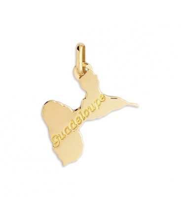 PENDENTIF GUADELOUPE OR