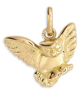 PENDENTIF CHOUETTE OR