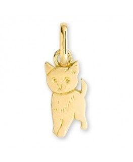 PENDENTIF CHAT OR