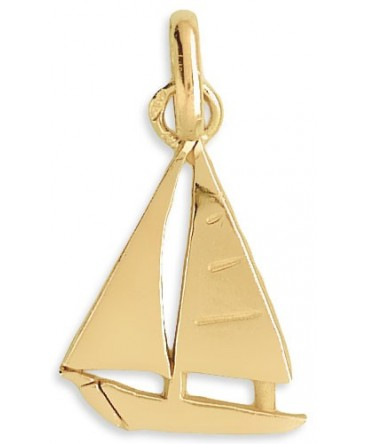 PENDENTIF VOILIER OR