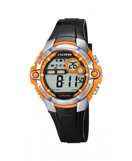 Montre CALYPSO Digitale Bracelet Noir BT OR
