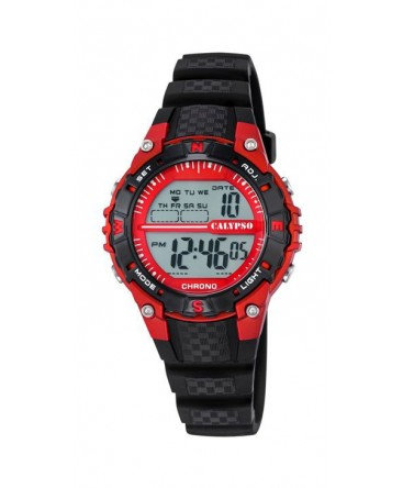 Montre CALYPSO ENF Digitale Bracelet Noir BT NO-RG