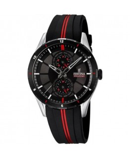 Montre FESTINA Homme Multi-Fonctions Bracelet NO/RG Fond NOR