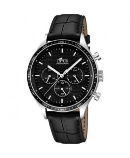 Montre LOTUS Homme CHRONO (C) Noir Fond NO