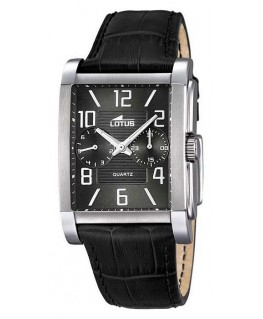 Montre LOTUS MULTI CUIR Noir FO NO