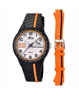Montre LOTUS KDT NO/OG Fond BL