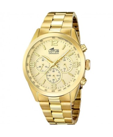 Montre LOTUS Homme CHRONO PLAQUE Fond CH