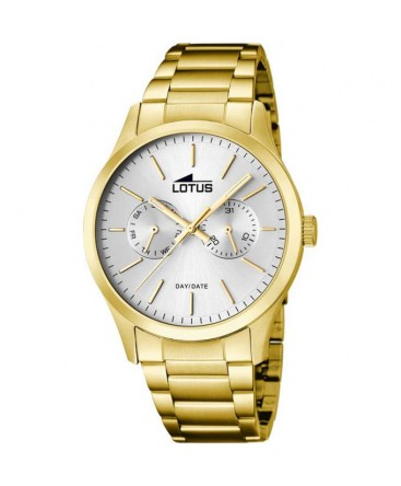 Montre LOTUS Homme Multi-Fonctions PLAQUEE Fond BL/IN