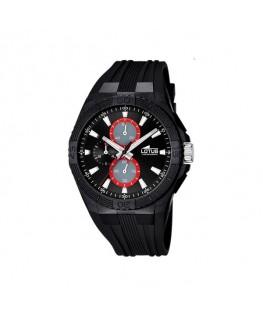 Montre LOTUS HommeCHRONO Bracelet Noir Fond NO/RG