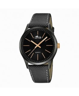 Montre LOTUS Homme Bracelet Noir Fond NO/IN DO
