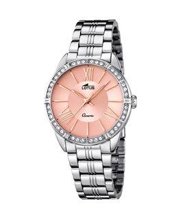 Montre LOTUS Dame bracelet acier rose cuivré