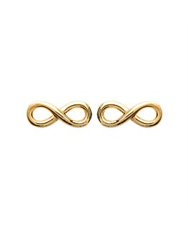 BOUCLES Plaqué Or INFINITY