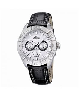 MONTRE LOTUS HOM MULT-CUIR NO FD BL-NO