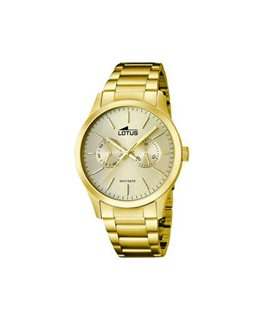 MONTRE LOTUS HOM-MULT PLAQUEE FD CH-IN