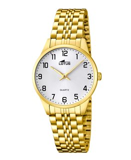MONTRE LOTUS DAME PLAQUEE FD - AR-NO -