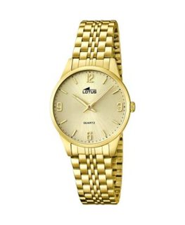MONTRE LOTUS DAME PLAQUEE FD CH -IA-DO-