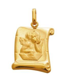 Médaille Parchemin Ange