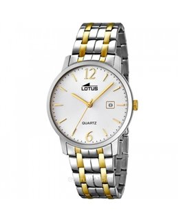Montre LOTUS Homme BIC AC/DO Fond BL/IN DO