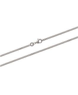 Chaîne Argent Maille Gourmette Diamantée 1.7mm