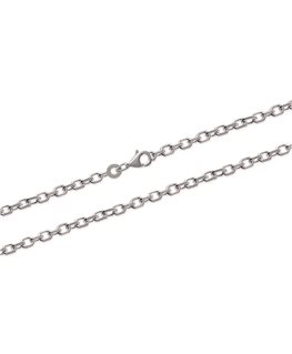 CHAINE ARGENT Maille FORCAT 3MM