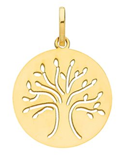 MEDAILLE OR 375-000 REPUBLICAIN ARBRE