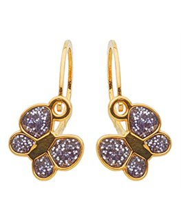 BOUCLES BRISURE OR 9 carats PAPILLON VI