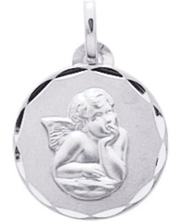 MEDAILLE OR BLANC ANGE