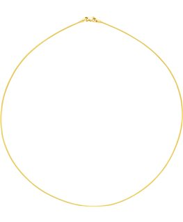 COLLIER OR JAUNE CABLE 750-000