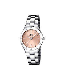 Montre LOTUS Dame Bracelet Acier Cadran Fond Cuivré