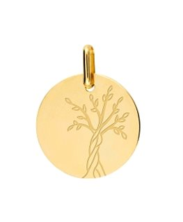 MEDAILLE OR18CARATS ARBRE VIE M1053