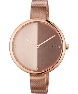MONTRE DAME ELIXA BEAUTY PL-OR ROSE MILA