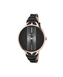 MONTRE DAME ELIXA BEAUTY DORE ROSE CAD-N