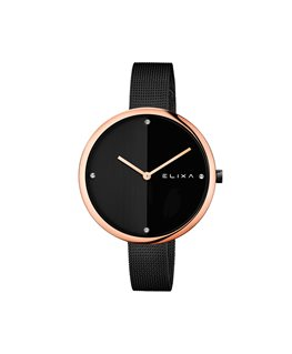 MONTRE DAME ELIXA BEAUTY PL-OR ROSE C-NO