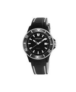 MONTRE MIXTE AM-PM CLUB NOIR