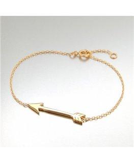 Bracelet Plaqué Or Flèche