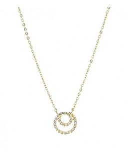 COLLIER OR JAUNE 375-000 CHAINE + OZ