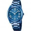 Montre FESTINA Dame bracelet acier bleu fond bleu