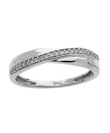 BAGUE OR GRIS DIAMANTS 0-11CT 750-000