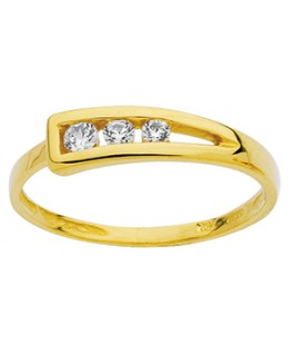 BAGUE OR JAUNE OZ 750-000
