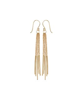 BOUCLES PL-OR PENDANTE