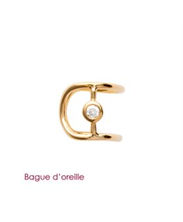 BAGUE D'OREILLE PL-OR OZ