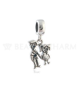 BEAUTY CHARMS ARGENT FILLE - GARCON