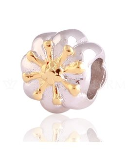 BEAUTY CHARMS ARGENT BICOLORE