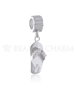 BEAUTY CHARMS ARGENT TONGUE Oxyde de Zirconium