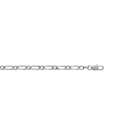 Chaîne Argent maille Figaro 2.5 mm