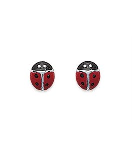 boucles argent coccinelle email
