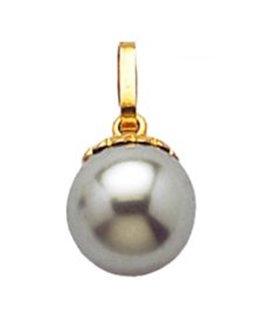 PENDENTIF Plaqué Or perle