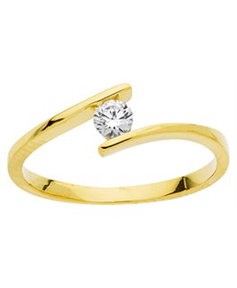 BAGUE OR JAUNE OZ 375-000