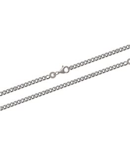 CHAINE ARGENT MAILLE GOURMETTE 2-3MM