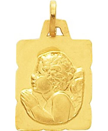 MEDAILLE OR JAUNE ANGE 750-000